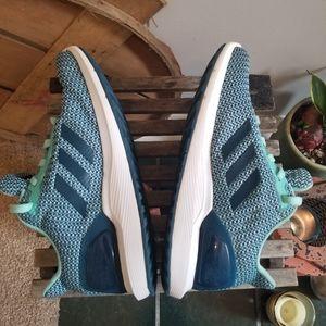 COPY - Womens Adidas Cloudfoam  Running Shoes- Si…